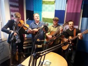 Potheen Rovers im Studio