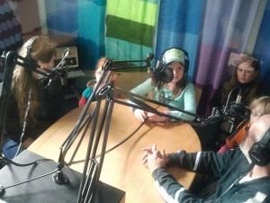 Ferienkinder in Studio