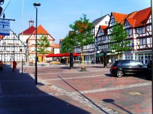 Fachwerk Marktplatz Eschwege