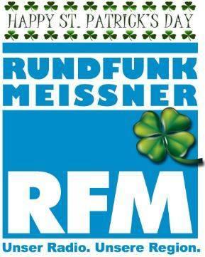 RFM Logo mit St. Patrick
