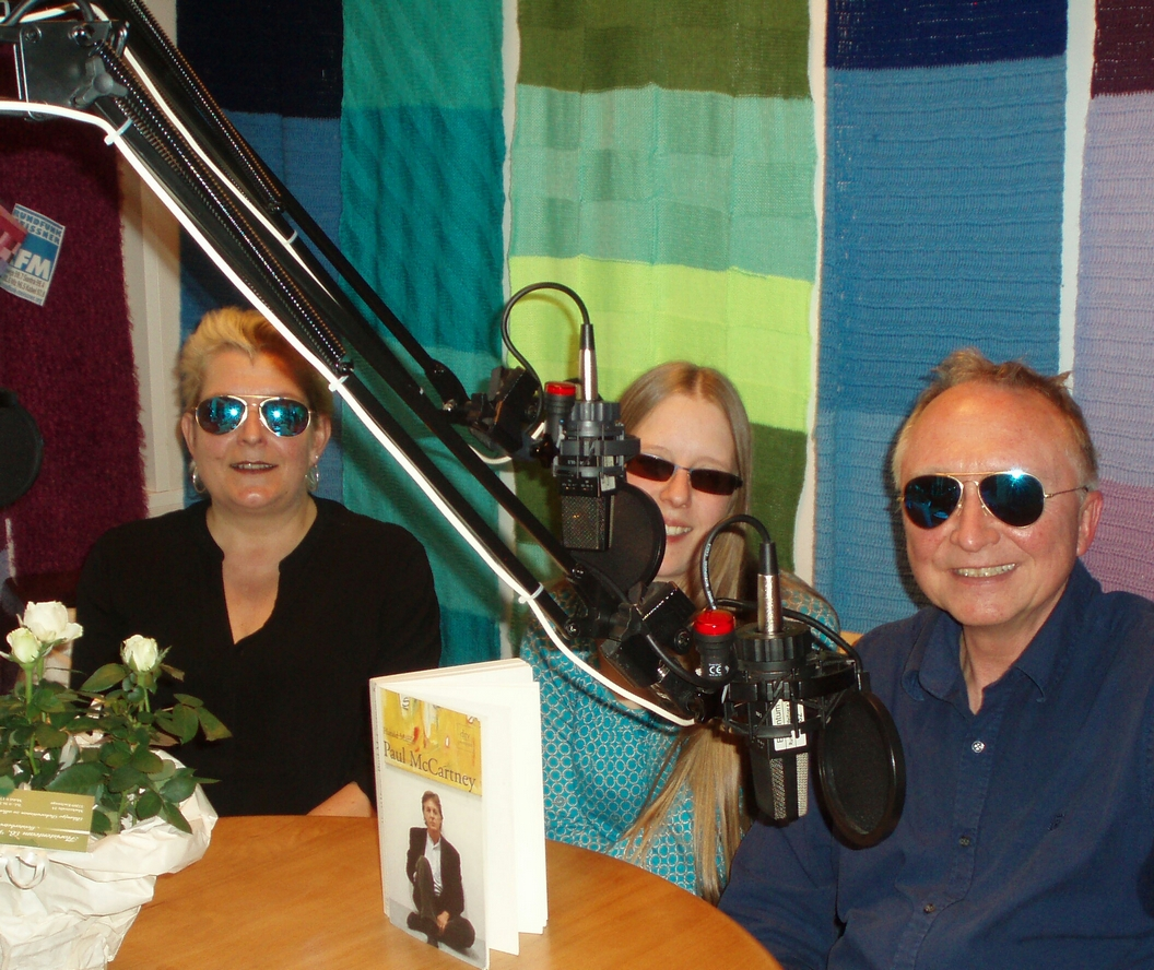 René Studio-Gäste Beatles-Sendung