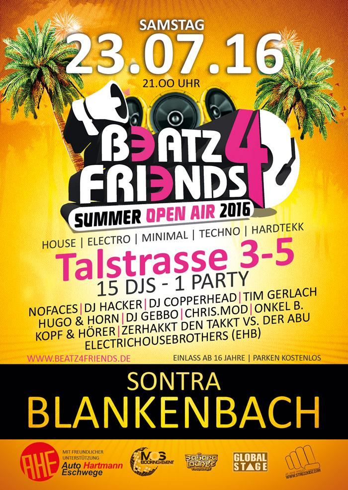 Beatz 4 friends Plakat