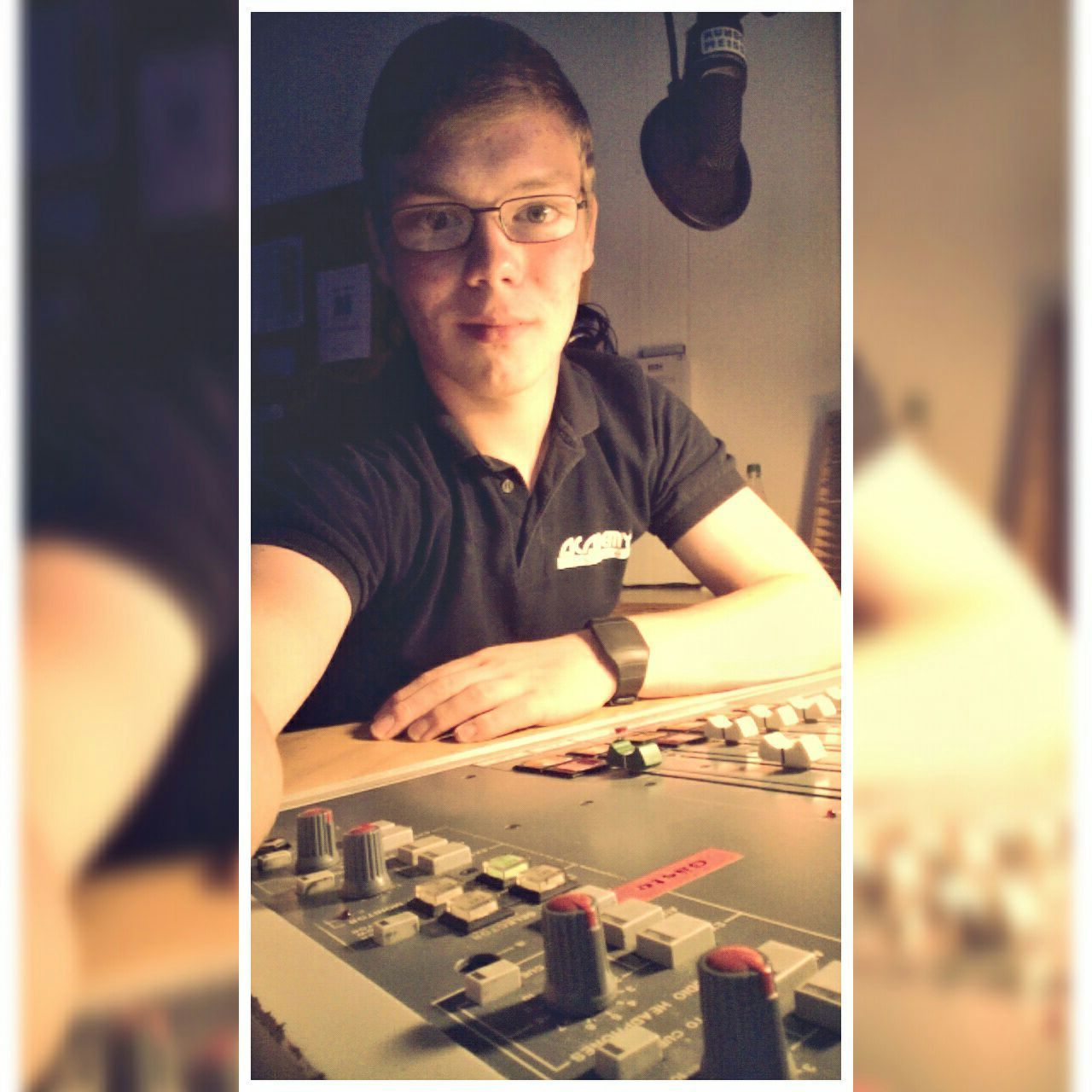 Im Studio: Lars Gille