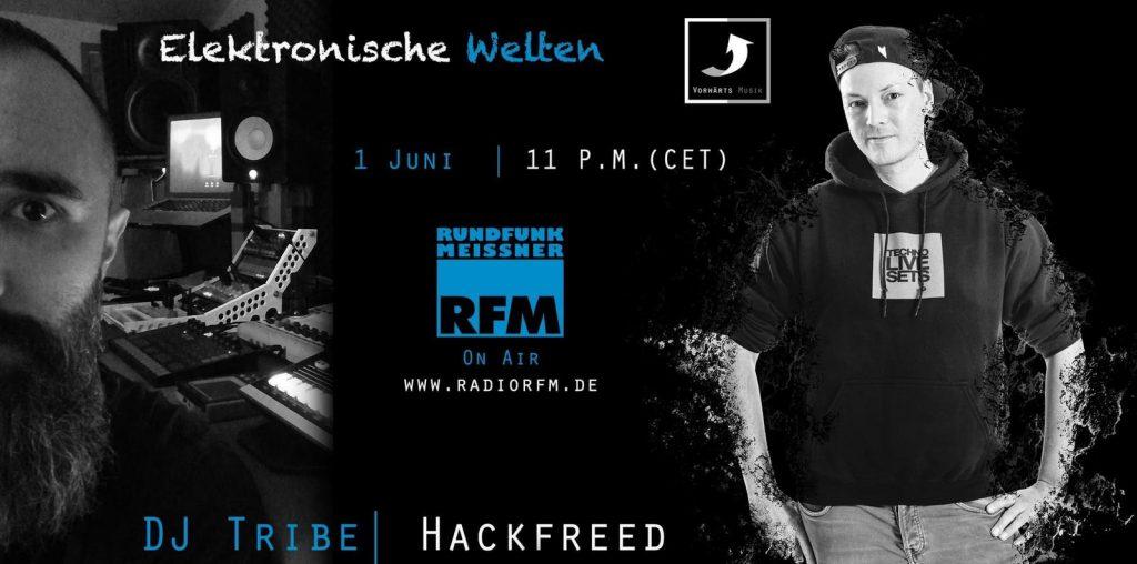 'Elektronische Welten - Radio, Podcast & Stream' - das neue Format mit Christian Hacker & Guests ...
